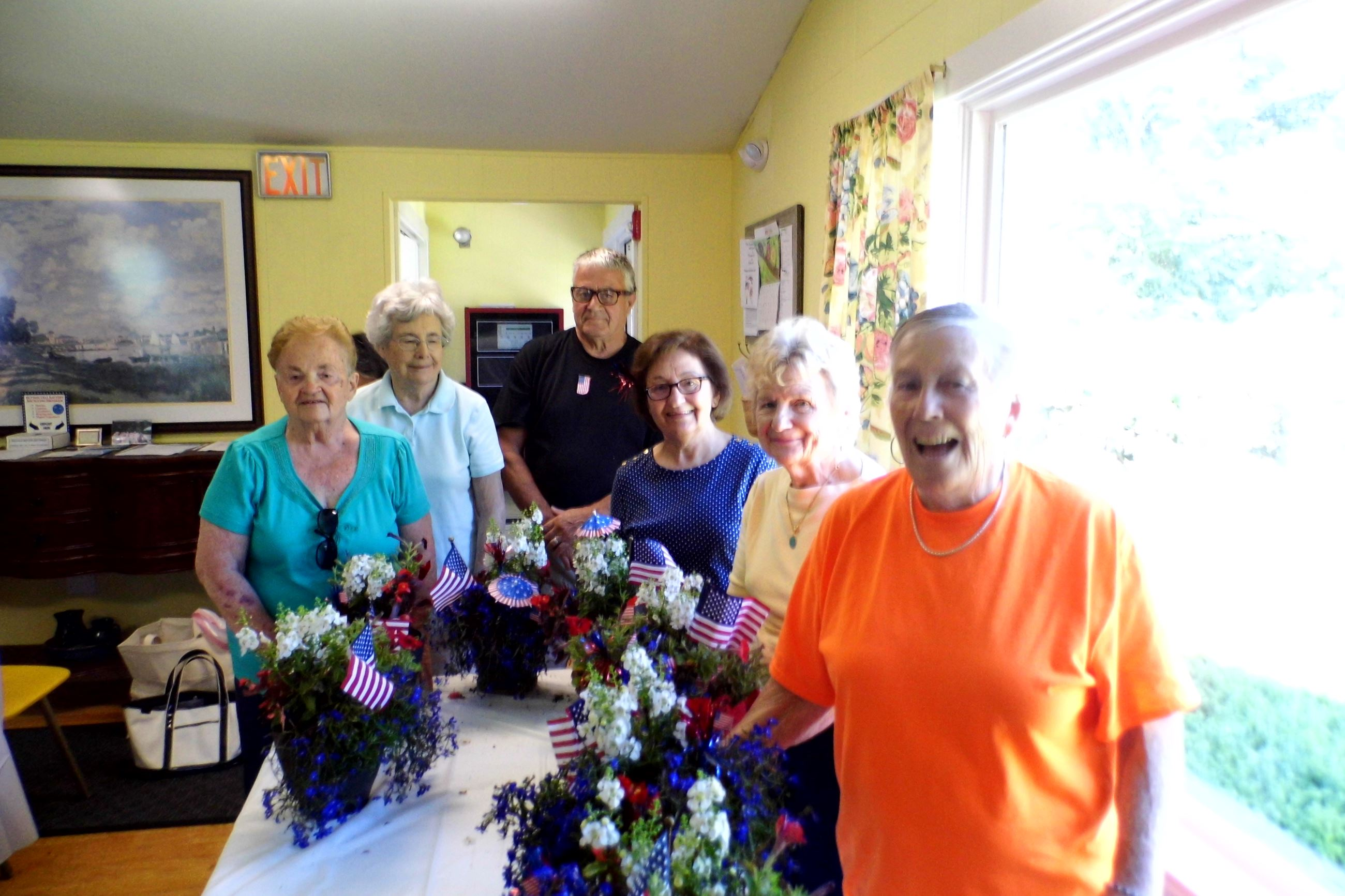 Garden Club 4th of July planings 010
